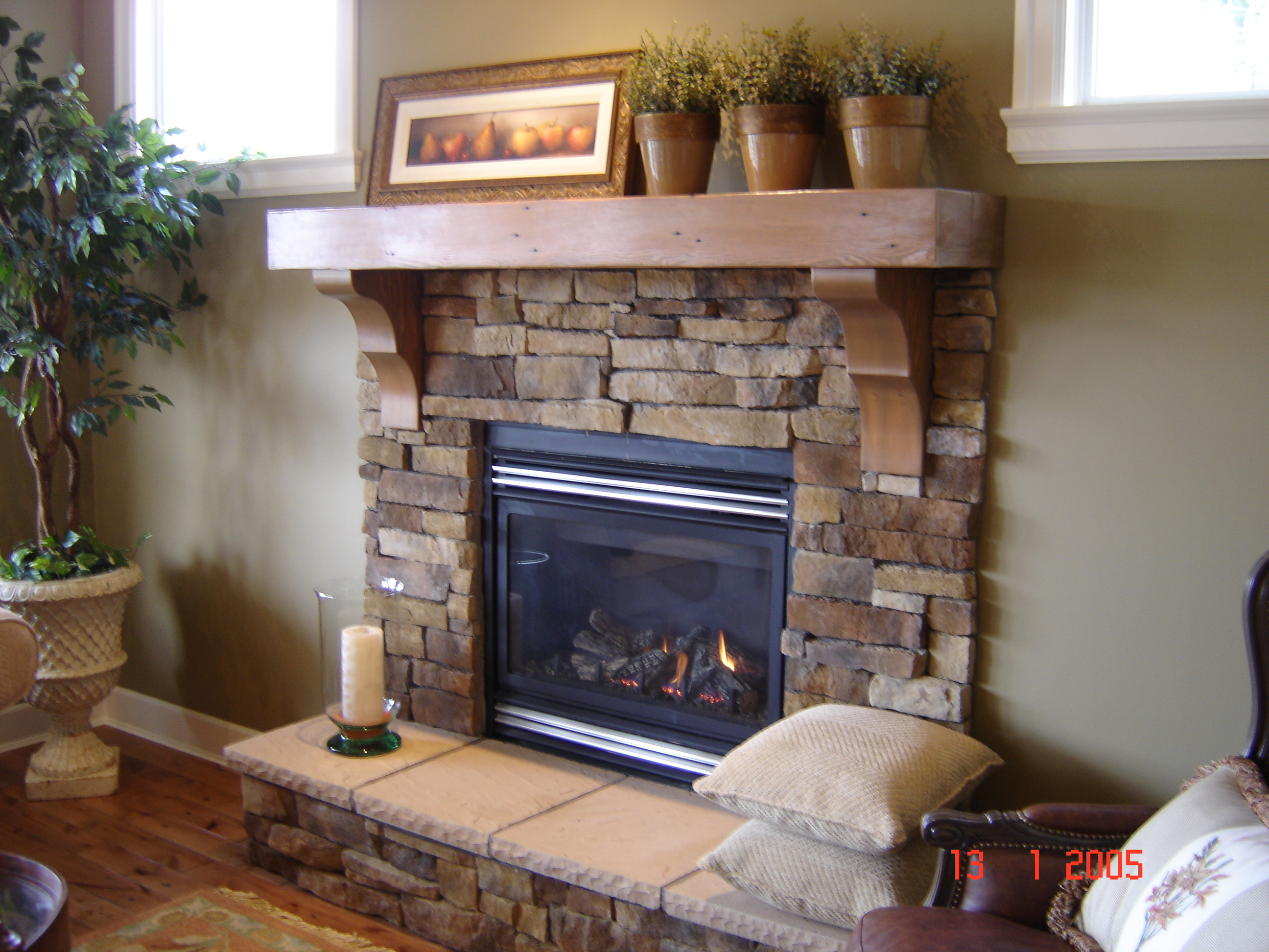 awesome hearth cream wooden grey mantel with to of renew your connected fireplace for designs look interior mantels old by wall