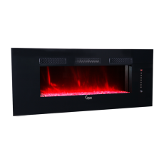 SCW-001  47-Inch Built-in and Wall mounted Electric Fireplace